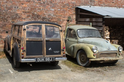 Part of the Morris Minor collection