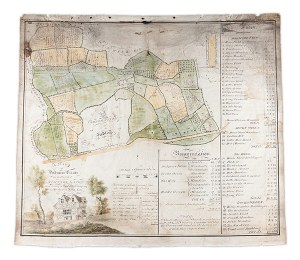 A Map of Dodmore Estate in the parish of Staunton Lacey, 1835