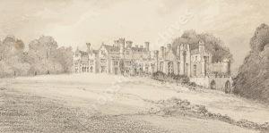 Stanley Leighton sketch, Brynkinalt, 8th September 1896
