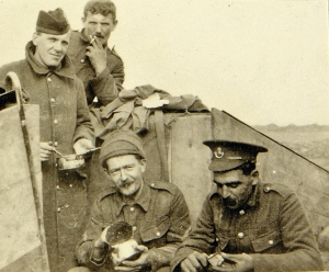 Military Conflicts through Artefacts, Letters, Postcards and Family History