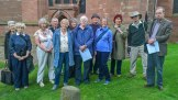 Bridgnorth visit by Friends of Shropshire Archives